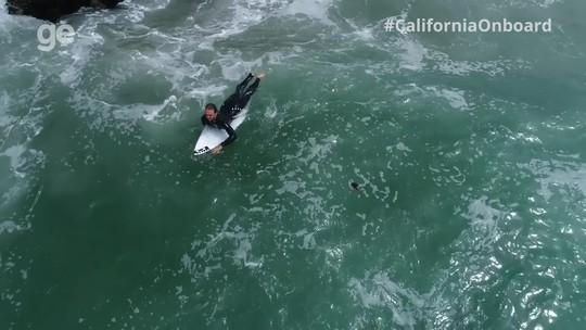 Caio Ibelli volta a surfar depois de cinco semanas afastado por lesão