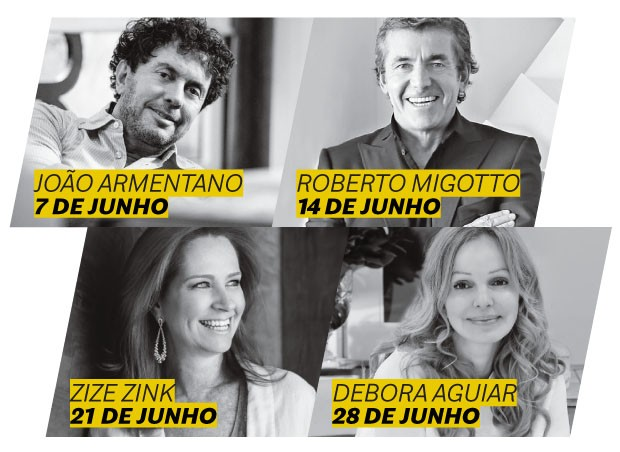 Facebook Live: programação de junho terá quatro arquitetos renomados (Foto: Divulgação)