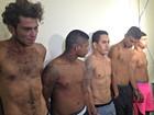 Cinco são presos suspeitos de tráfico de drogas e assalto no Acre