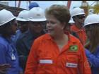 Recebida com festa em PE, Dilma troca poucas palavras com Campos