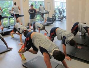 Fluminense treino orlando (Foto: Rafael Cavalieri)