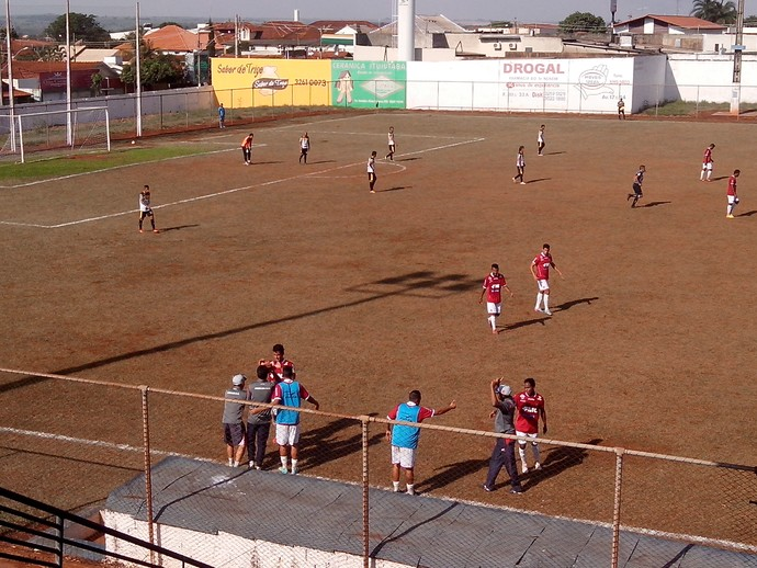 Uberaba Ituiutabano Segunda Divisão 2014 (Foto: Fabryne Obalhe)