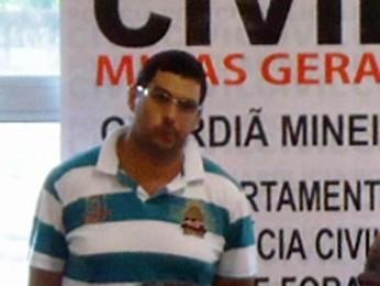 Suspeito de matar vereador eleito em Niterói. (Foto: Divulgação/ Polícia Civil)