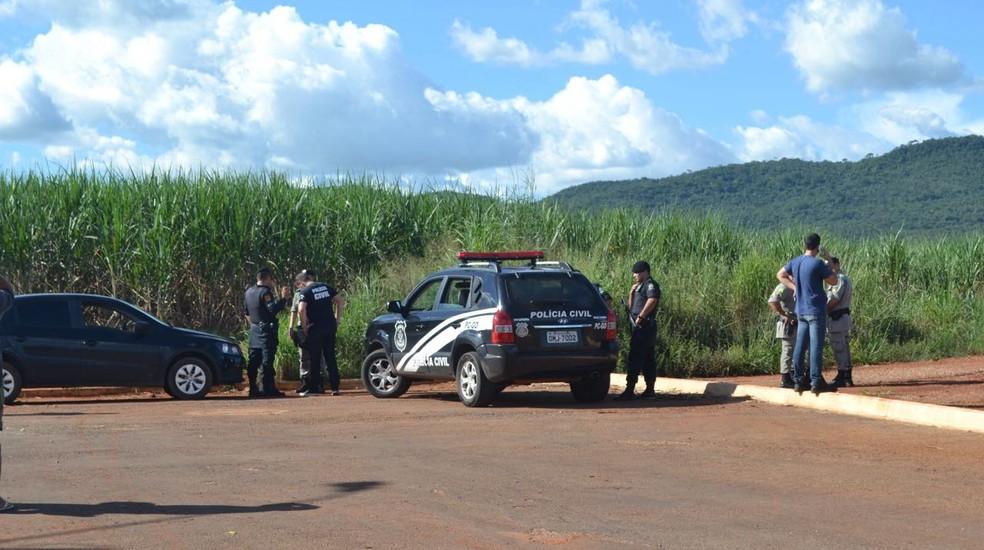 Homem é preso após confessar que matou a filha de 1 ano baleada (Foto: Divulgação/Portal Meganésia)