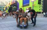 'Esse som me leva a qualquer lugar', diz fã cadeirante no Festival de Verão