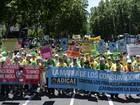 Milhares manifestam na Espanha contra reforma da saúde