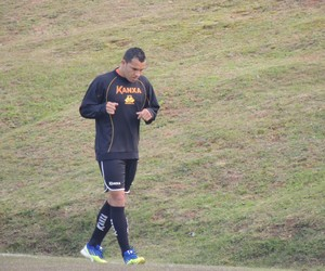Cristiano Criciúma atacante (Foto: João Lucas Cardoso)