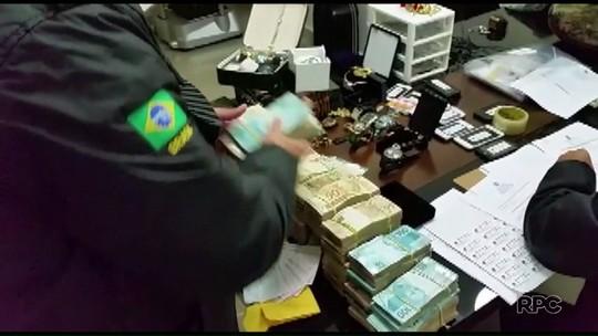 Chefe de quadrilha embarcou com mala de dinheiro em Londrina