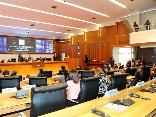 Sessão plenária da Assembleia Legislativa do Maranhão (AL-MA) (Foto: Reprodução/Flickr Assembleia)