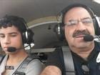 Queda de avião experimental mata pai e filho em Guapé, MG