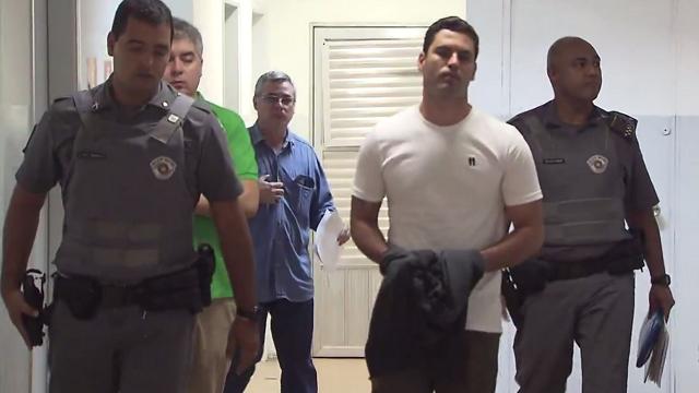 Tiago Batista de Barros vai a julgamento (Foto: Reprodução/TV Tribuna)