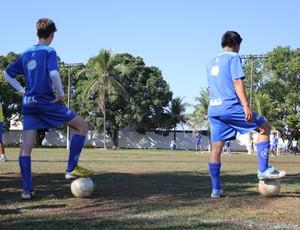 Escolinha do Avaí em Porto Velho (Foto: Larissa Vieira)