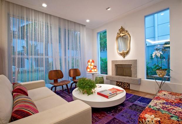 D cor do dia mix contempor neo casa vogue interiores for Sala de estar retro vintage