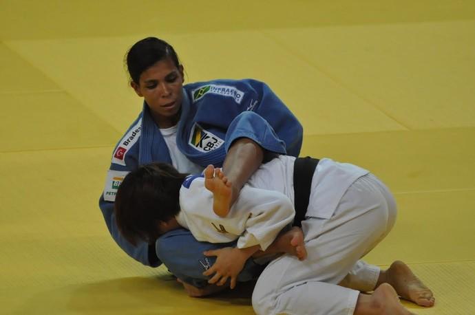 Jéssica Pereira, evento-teste de judô (Foto: Valter França)