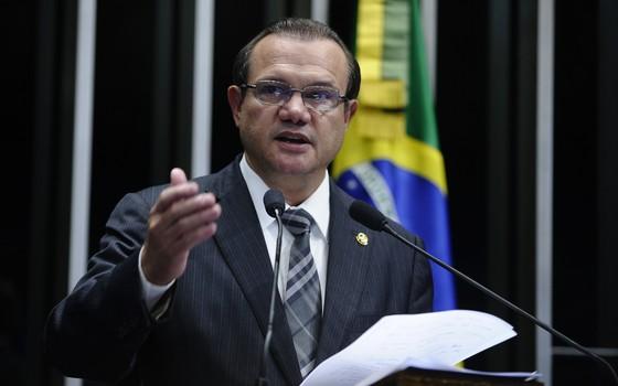 O senador Wellington Fagundes (PR-MT), em foto de 2015 (Foto: Moreira Mariz/Agência Senado)