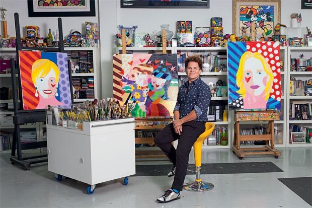 Estúdio do artista em Miami ocupa uma área de 15 mil metros quadrados (Foto: Jill Peters)