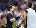 """Murray supera estilo """"bad boy"""" de Kyrgios e garante vitória na estreia"""