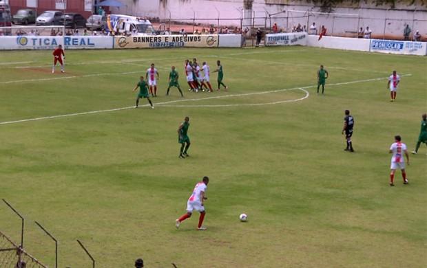 Tricordiano vence o Betim na estreia do Módulo II do Mineiro. (Foto: Reprodução EPTV)
