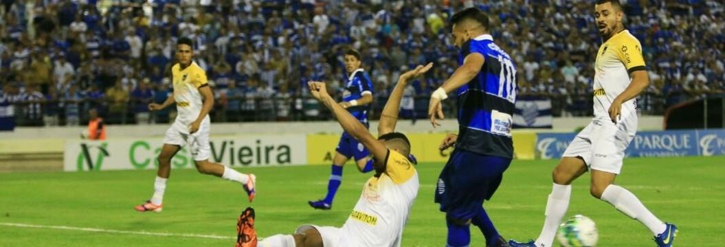 CSA e Volta Redonda não saem do 0 a 0  no primeiro jogo da decisão da Série D (Ailton Cruz / Gazeta de Alagoas)