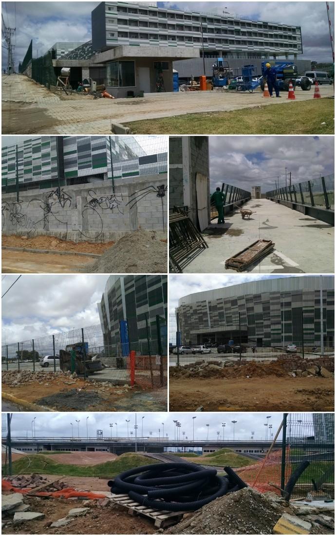 Mosaico, Centro de Formação Olímpica (Foto: Juscelino Filho)