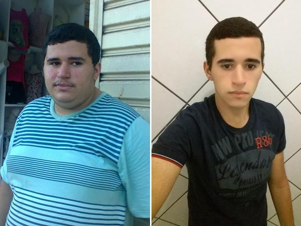 Daniel Figueira Galete mudou alimentação, passou a fazer exercícios e foi dos 123 kg para os 73 kg (Foto: Daniel Figueira Galete/Arquivo pessoal)
