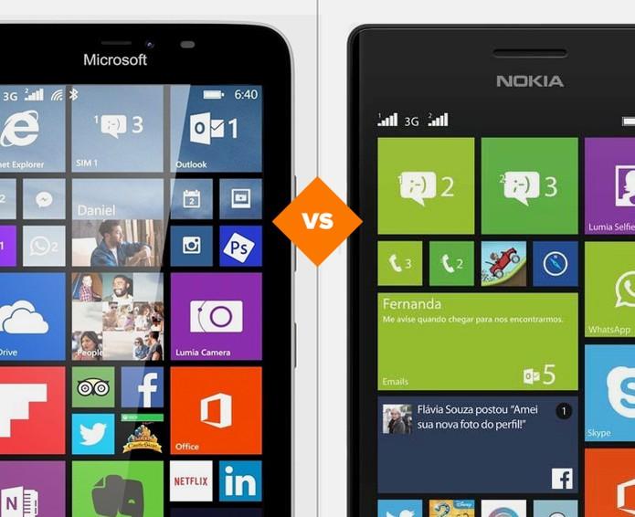 Veja o comparativo do TechTudo e decida qual Lumia é o ideal para você (Foto: Arte/TechTudo)