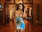 Cinthia Santos, rainha da Águia de Ouro: 'Quero ser mais feminina'