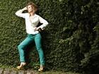 Luiza Valdetaro faz ensaio com looks em verde-esmeralda, cor que tem tudo a ver com o verão