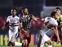 Kardec encerra jejum, São Paulo vence o Fluminense e se reaproxima do G-4