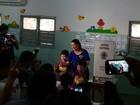 Candidatos Raquel Lyra e Tony Gel votam pela manhã em Caruaru, PE