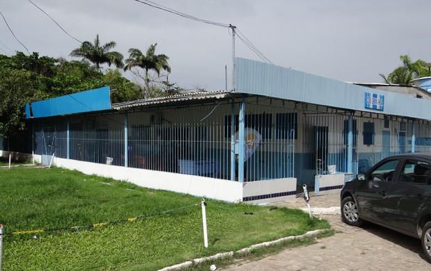 Mutange, centro de treinamento do CSA (Foto: Caio Lorena / Globoesporte.com)