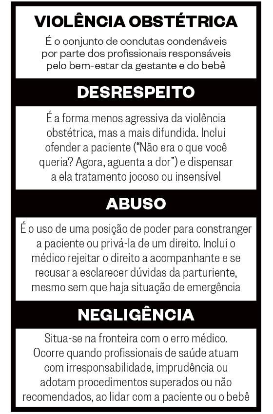 Violência obstétrica (Foto: Revista ÉPOCA)