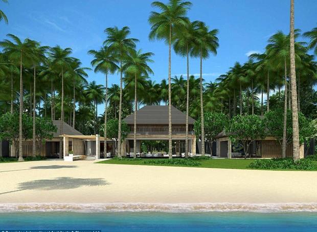 Resort à beira mar quer trazer de volta espécies nativas da vegetação local (Foto: Reprodução/Denniston International)