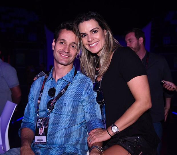 Rodolfo Medina e Livia Rossy (Foto: Renato Wrobel/ Ed. Globo)
