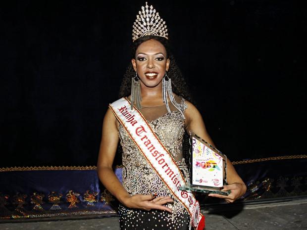 Sthephanny Monphettiny: rainha transformista (Foto: Celso Tavares/ EGO)