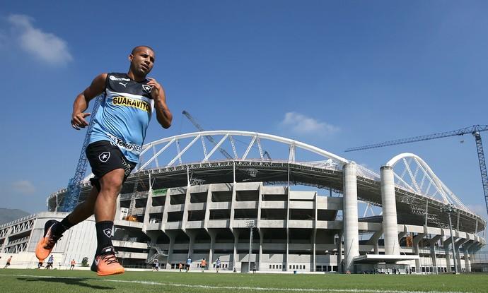 Emerson Botafogo (Foto: Satiro Sodré / Botafogo)