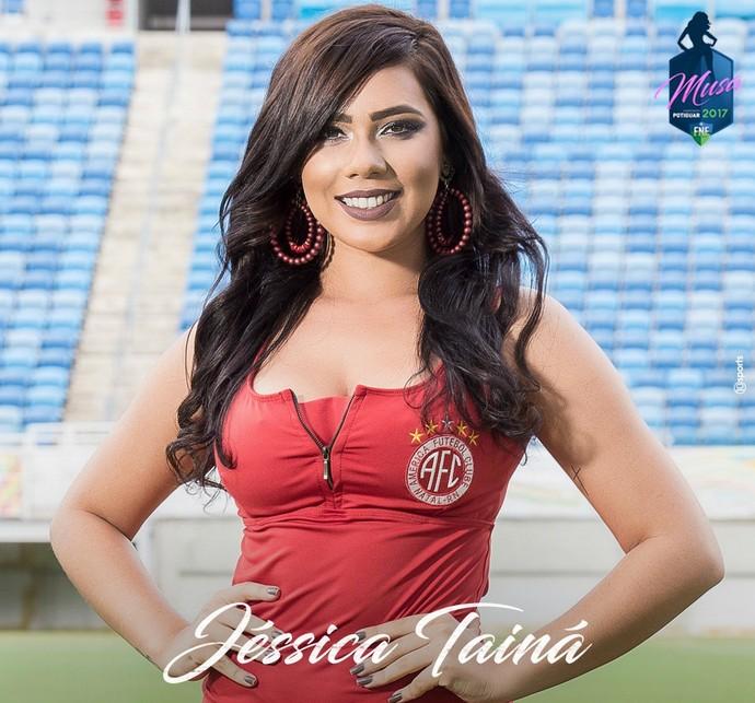MUSA DO CAMPEONATO POTIGUAR 2017 - Jéssica Tainá Amaro de Souza - América-RN (Foto: Divulgação)