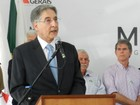 Governador Fernando Pimentel entrega viaturas à PM em Uberaba