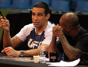Fabricio Werdum Rafael Cordeiro TUF Brasil 2 UFC (Foto: Getty Images)