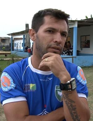 Zé Marco, técnico do Atlético-AC (Foto: Reprodução/TV Acre)