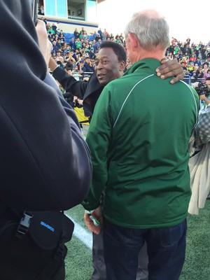 Pelé, New York Cosmos (Foto: Reprodução / Twitter)