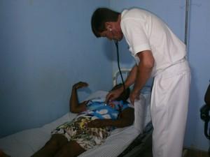 Médico Berilo 2 (Foto: Marina Pereira)