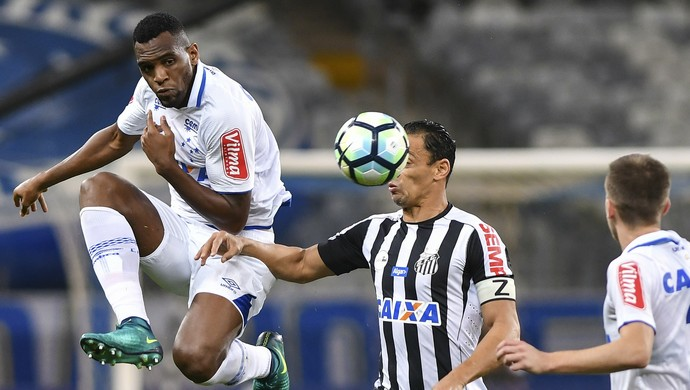 CRUZEIRO X SANTOS (Foto: Washington Alves/Light Press/Cruzeiro)