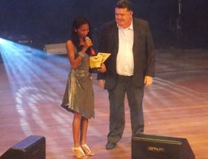Larisse Nascimento foi um dos destaques da premiação (Foto: Bruno Alves)