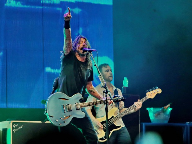 Foo Fighters So Paulo (Foto: MROSSI/T4F)