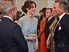 Estrelas do cinema e realeza britânica vão à pré-estreia do novo filme de 007
