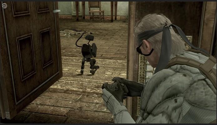 Snake pode controlar Metal Gear Mark.II com um Dualshock (Foto: Reprodução / crumaharashop)
