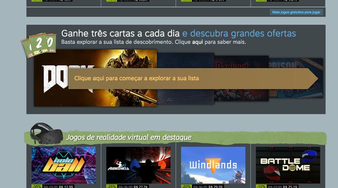 Como ganhar cartas na Summer Sale do Steam (Foto: Reprodução/Felipe Vinha)
