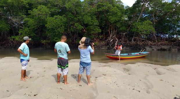Reportagem mostra passeio que é convite para contato com a natureza (Foto: TV Clube)