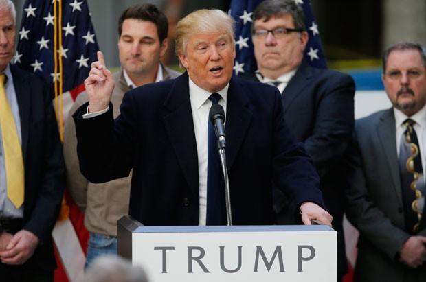 Discurso de Trump contra imigração ilegal incentiva voto latino nos EUA (Foto: Jim Bourg/Reuters)